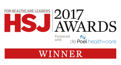 HSJ Awards 2017 - eConsult is winner