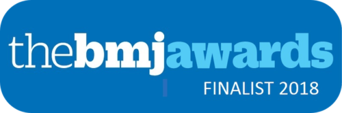 BMJ awards -- finalist - digital healthcare provider