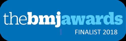BMJ awards -- finalist - digital healthcare provider