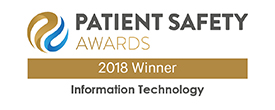 Patient Safety Awards - 2018 Winner - eConsult an award winning digital healthcare platform